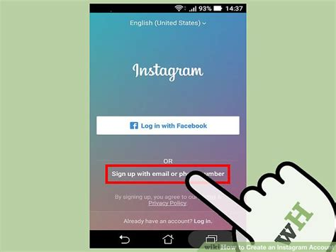 Search Instagram Account By Email 3 Ways To Create An Instagram Account Wikihow