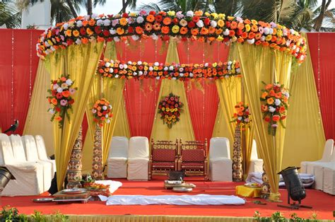 Wedding Planner India by Wedding Planners Traditional Indian Mandap San Diego