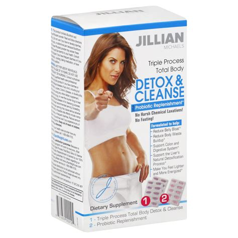 Jillian Detox And Cleanse Kit With Probiotic by Jillian Usa