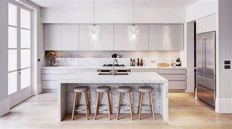 kitchen island marble the modern home homedesignboard
