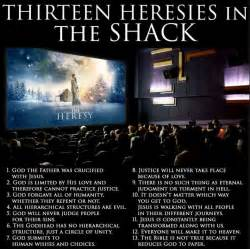 the shack thirteen heresies in the shack possessing the treasure