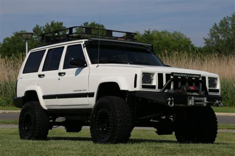jeep xj lifted 2001 jeep sport xj lifted 65k original many