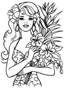 barbie colorir gratis az dibujos colorear