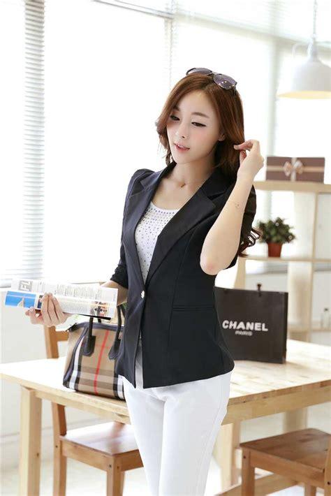 Blazer Cantik blazer hitam cantik terbaru 2015 model terbaru jual murah import kerja