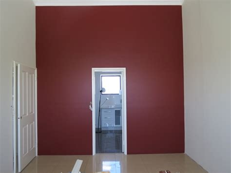 dulux interior paint this was a master bedroom i painted the feature wall was