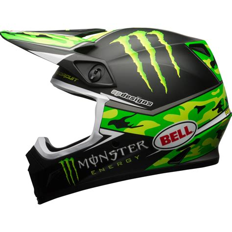 monster energy motocross helmet 2017 bell mx 9 mips pro circuit monster energy camo