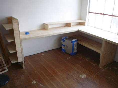 plywood corner desk 17 best ideas about plywood desk on office