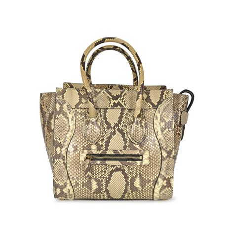 Botega Venetta 661 Jj Single Bag second python micro luggage bag the fifth collection
