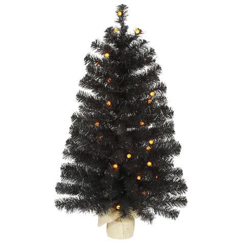 black halloween tree with orange lights artificial black halloween tree with orange lights vck4309
