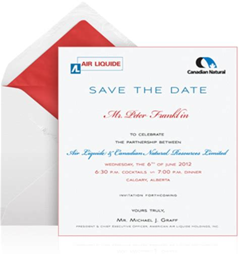 save the date business event templates corporate invitation exles eventkingdom