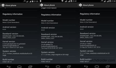reset android to previous version how to restore moto g 2014 xt1068 back to stock 4 4 4 kitkat