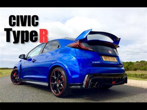 2016 honda civic type r review inside lane youtube