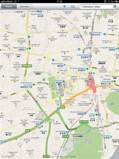 google tokyo tokyo japan google maps middle east map