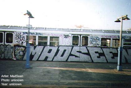 new york city trains, mid '80s