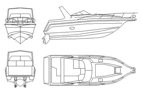 boat cad block download biili boat plan bloques cad autocad arquitectura download 2d 3d dwg
