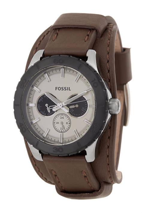 correas de reloj cuero relojes fossil con correa de cuero