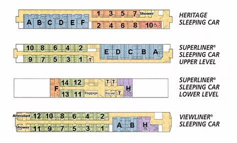 Amtrak Sleeper Car Layout by Above Plans Courtesy Of Stanstokrocki For Friendsof Amtrak
