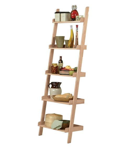 Lowes Ladder Shelf by Stylish Bookshelf Leaning Shelf Lowe S Leaning Ladder