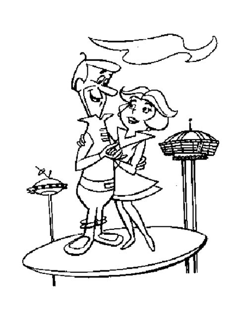 free jetsons coloring pages free the jetsons coloring pages