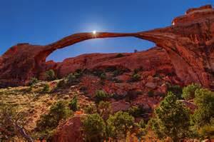 landscape arch sunburst landscape arch flickr photo