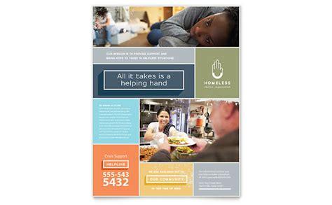 Shelter Insurance Letterhead homeless shelter flyer template word publisher