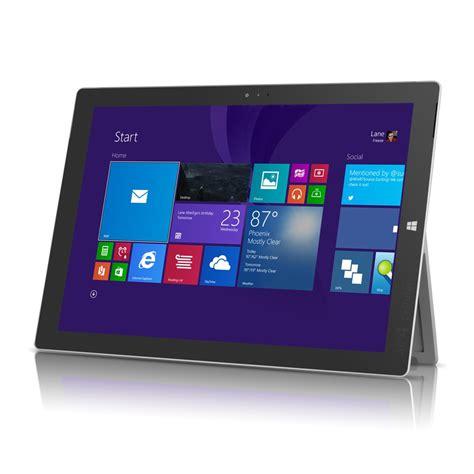 Microsoft Surface Pro 1 microsoft surface pro 3 windows 10 1 intel i7 12 quot tablet w 256gb silver refurbished