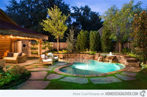 Backyard Ideas Around Pool 15 Amazing Backyard Pool Ideas Home Design Lover