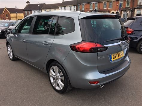 vauxhall silver used silver vauxhall zafira tourer for sale kent