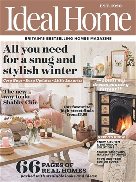 home magazines ideal home magazine november 2016 subscriptions pocketmags