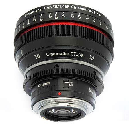 how to get a fake canon 50mm cine lens for $800 instead of