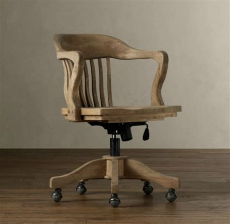 Desk Chair Wood by Wooden Desk Chair