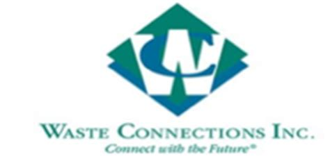 waste connections inc
