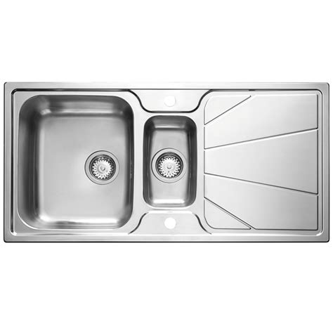 astracast kitchen sink astracast korona 1 5 bowl stainless steel kitchen sink