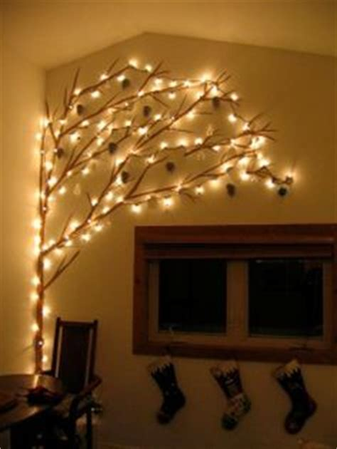 tree on a wall with lights 2013 wall lights decor on