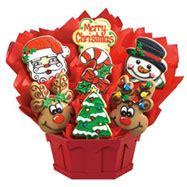 christmas gift baskets christmas cookies cookies  design