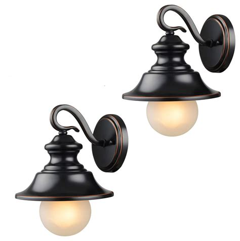 Outdoor Corner Wall Light Rubbed Bronze Outdoor Patio Porch Exterior Light