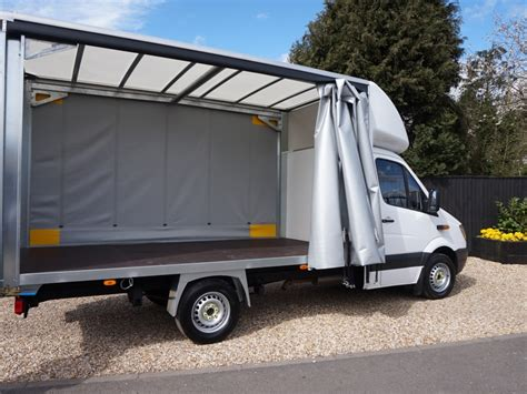 curtain vans for sale used mercedes sprinter curtain side for sale vantastic