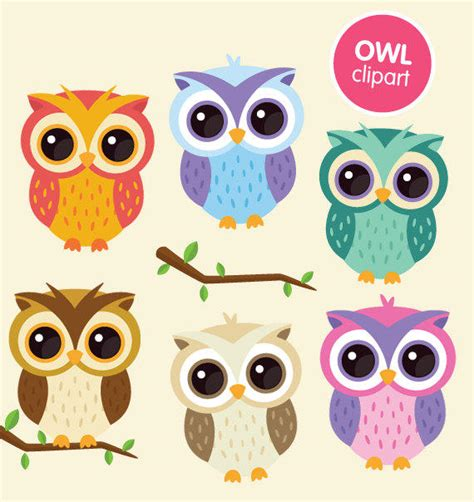 wallpaper animasi owl lucu free printable owl clipart 67