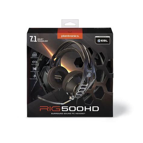 Plantronics Rig 500 Hd plantronics rig 500hd купить наушники