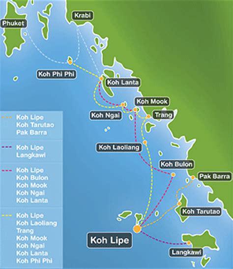 speedboot nach koh lipe koh lipe thailand green view beach resort koh lipe koh