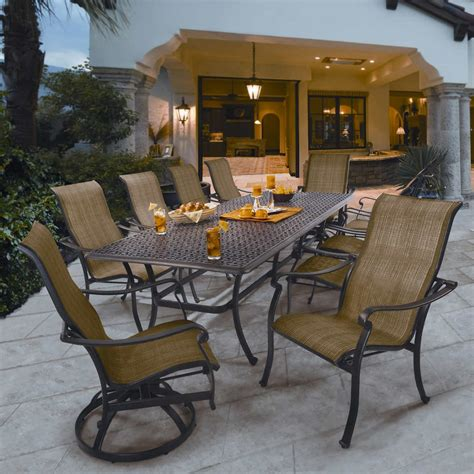 dining set with bench costco patio amazing dining table sets costco outdoor tables