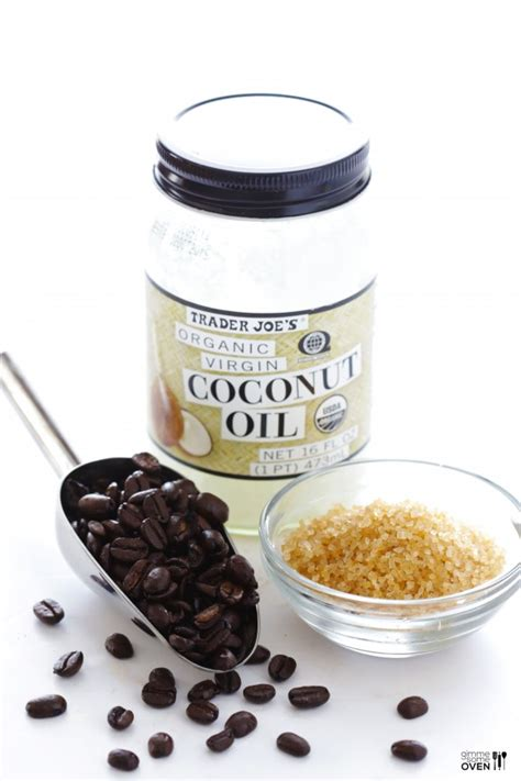 Bell Fresh Made Coffee Scrub diy coffee sugar scrub gimme some oven