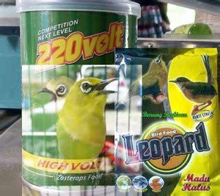 Daftar Harga Pakan Burung Ronggolawe beberapa merk voer untuk pleci lomba kicau burung mania