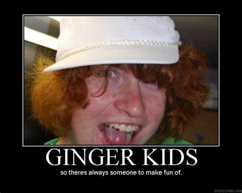 Funny Ginger Meme - ginger kids are gross memes