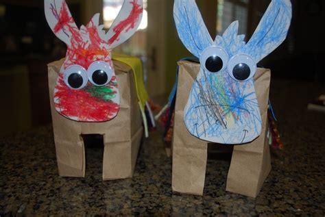Paper Bag Donkey Pattern | paper bag donkeys donkey crafts for kids mess for less