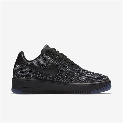 Nike Air 1 Flyknit Low White cheap nike air 1 flyknit low womens black white