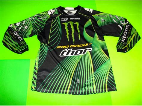 monster motocross jersey pro circuit thor mx motocross monster energy race team