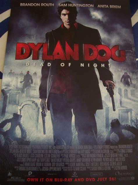 filmposter dylan dog dylan dog movie 2011 promo poster brandon routh mint