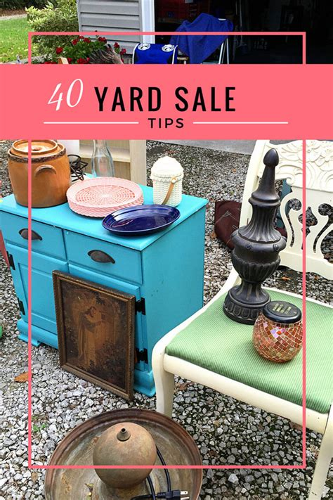 Hawthorne Garage Sales by Top 40 Ultimate Yard Sale Tips House Of Hawthornes