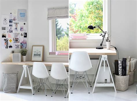 trestle office desk 15 home offices featuring trestle tables as desks